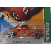 Hot Wheels Willys 41 Clasico Treasure Hunts 12