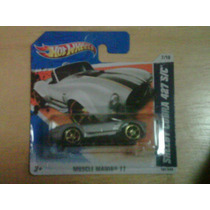 Hotwheels Shelby Cobra 427 S/c V1 Mucle Mania 2011 Hot Wheel