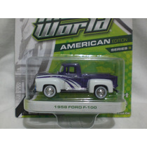 Greenlight La 1958 Ford F-100 De La Serie 5