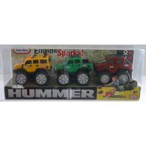 Vehiculos En Miniatura Paquete 3 Hummers Marca Little Tikes