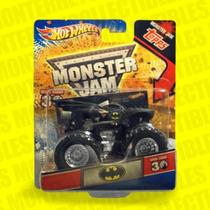 Hot Wheels Batman Monster Jam + Tarjeta Topps