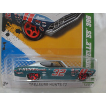 Hot Wheels Chevelle Ss 69 Clasico Treasure Hunts 12
