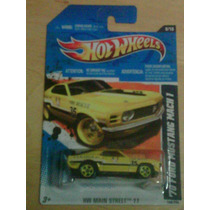 Hotwheels 70 Ford Mustang Mach Hw Main Street 2011 Hot Wheel