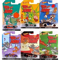 Hot Wheels Tom Y Jerry Series Exclusivas Juego Completo De 6