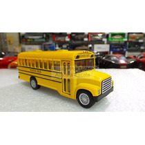 1:64 Autobus Escolar Kinsfun Friccion Pullback International