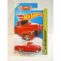 Hot Wheels Camioneta 52 Chevy Rojo 244/250 2015