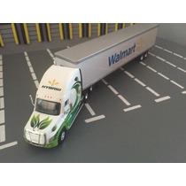Trailer Freightliner Cascadia Híbrido Walmart Tonkin Esc1:87