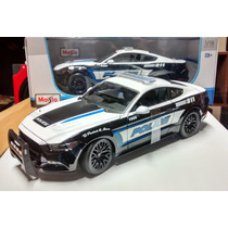 Ford Mustang Gt 2015 Police Maisto Escala 1:18