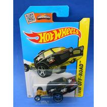2013 Hot Wheels Hw Poppa Wheelie Negro Off-road