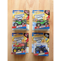 Set De 4 Monster Jam Grave Digger