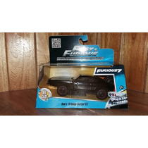 Doms 70 Dodge Charger R/t Rapido Y Furioso Jada Toys 1/32