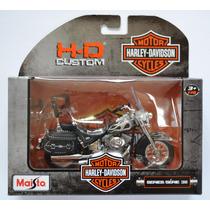 Moto Harley Davidson 2002 Flstc Heritage Softail Classic