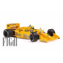 F1 Ayrton Senna Lotus Honda 99t Año 1987 Minichamps Esc 1/18
