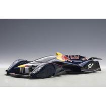 Red Bull X2014 Fan Car S. Vettel Auto A Escala De Colección
