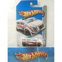 Hot Wheels Camioneta Speedbox Blanco 1:64 15/250 2013