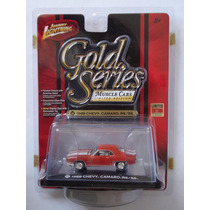 1969 Chevy Camaro Rs/ss Seríe Gold Rojo Johnny Lightning