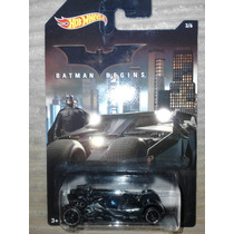 Hot Wheels Serie Batman Begins Batimovil Tumbler 3/6