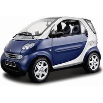 Maisto 1/18 Smart Fortwo Coupe 2 En 1 Metal / No Burago