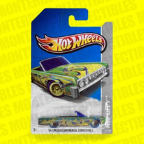 Hot Wheels 64 Lincoln Continental Secret T-hunt 2013