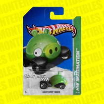Hot Wheels Angry Birds Minion Pig
