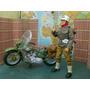 Lee Anun Figura Militar C Motocicle Indian P 12 Pulgadas 1/6