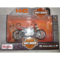 Moto Harley Davidson 1/18 Maisto Mod 1972 Xr750 Racing Bike