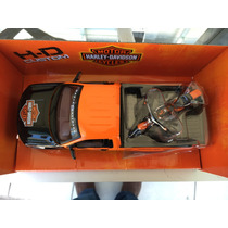 Camioneta For F 150 A Escala 1:24 Colletion Harley- Davidson