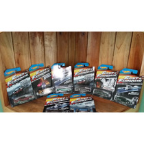 Rapido Y Furioso Fast & Furious Hot Wheels 8 Piezas Set 2015