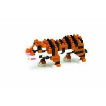 Figura Armable , Nanoblock Tigre De Bengala