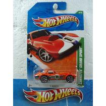 Hot Wheels T Hunt Corvette Grand Sport 59/244 2011 1:64