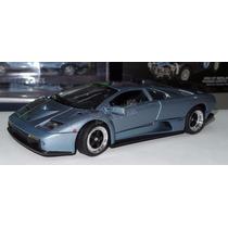 1:18 Lamborghini Diablo Gt Azul Motor Max