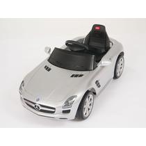 Carrito Eléctrico Mercedes Benz Sls Nuevo Modelo Plateado