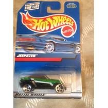 Hot Wheels Jeepster (verde) Del Año 1999