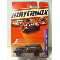 Matchbox Jungle Crawler Militar No 17 Metal