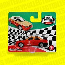Taxi Mania Nissan Tsuru Taxi Rojo Tipo Hot Wheels