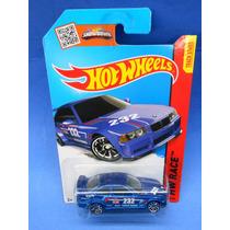 2013 Hot Wheels Bmw E36 M3 Race Azul Hw Race
