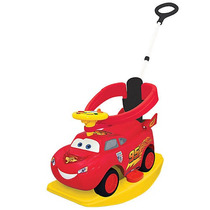 Disney Pixar Cars 2 - 4-en-1 Ride On - Rayo Mcqueen