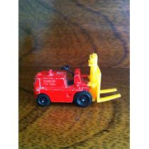 Mini Camión Con Montacargas Rojo Matchbox Superfast