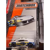 Matchbox Lamborghini Gallardo Lp 560-4 Police Patrulla