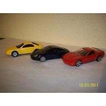 Maisto Lote 3 Coches Corvette Porsche 911 Ford Mustang