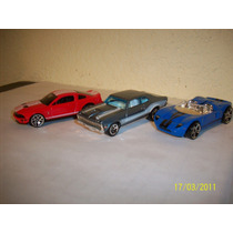 Hot Wheels Lote3 Coches Ford Gtxi Nova 68 Ford Shelby Gt500