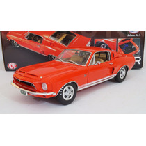 Ford Mustang Gt500 Kr 1968 Release No. 1 Escala 1:18 Acme