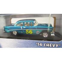 Hot Wheels 100%. .treasure Hunt 56 Chevy Nuevo 1.64