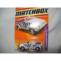 Gcg Auto Carrito Coche Matchbox Jungle Thing Vw Safari Bbf