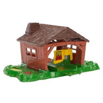 Hot Wheels Pista Constructor Exploding Shed Stunt Paquete