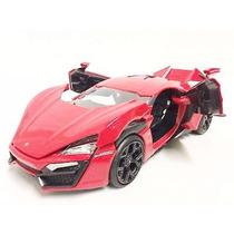 Jada Lykan Hypersport 1/24 Rapido Y Furioso Fast & Furious