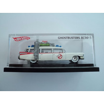 Hot Wheels Ecto 1 Ghostbusters Cazafantasmas