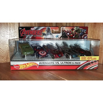 Avengers Vengadores Set Era Ultron 5 Pack Hot Wheels Lujo
