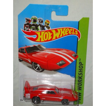 Hot Wheels 69 Dodge Charger Daytona Rojo