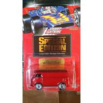 Johnny Lightning 60s Vw Van Llantas Goma Edición Especial